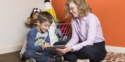 Speech pathology that helps children feel motivated