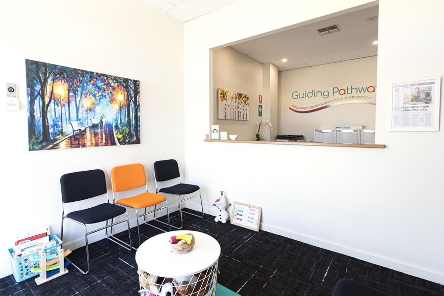 Guiding Pathways - reception area
