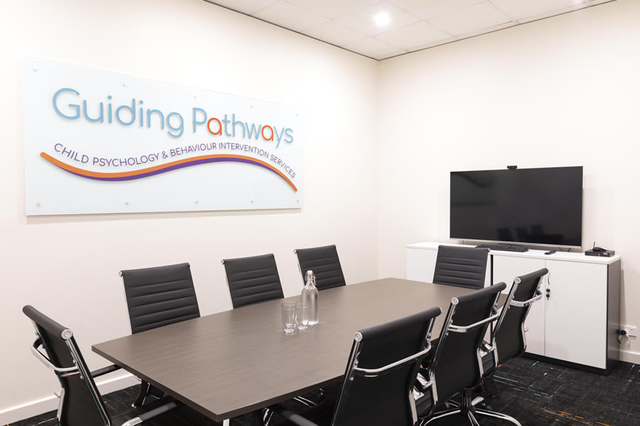 Guiding Pathways meeting room